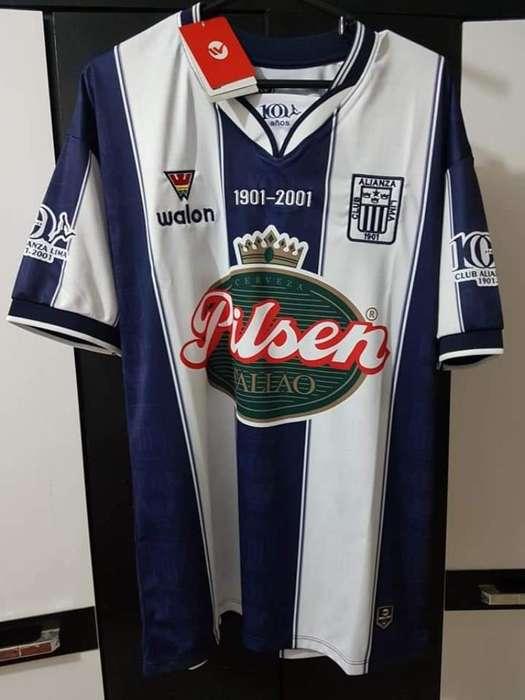 Camiseta Centenario Alianza Lima 2001