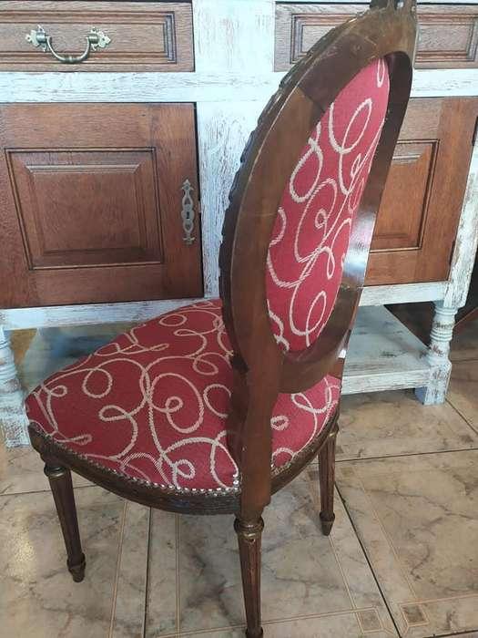 Vendo esplendida sillita de estilo frances restaurada