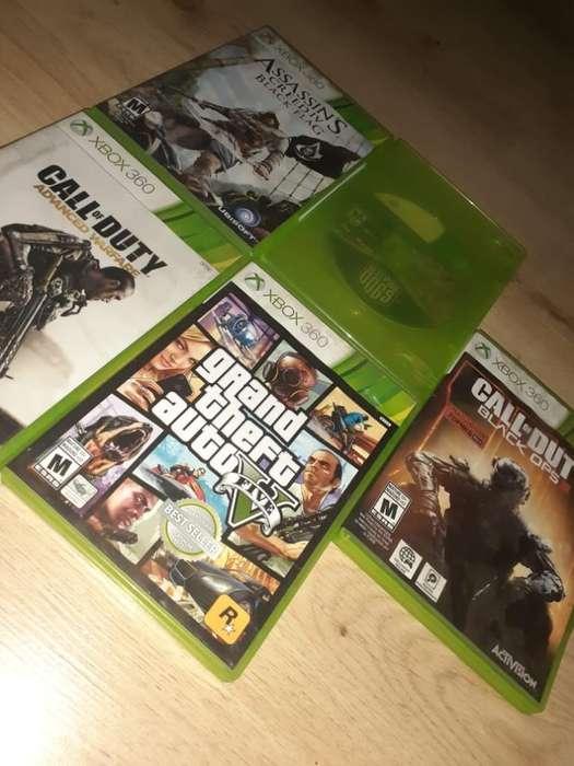 Vendo Juegos de Xbox 360 Regalados