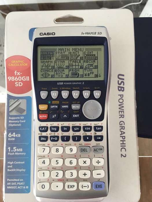 <strong>calculadora</strong> Gráfica Casio Fx-9860 Gii Sd