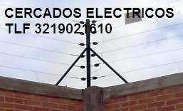 CERCAS Eléctricas Garantía 1 Año instalaciones reparaciones y mantenimiento CEL 3219021610