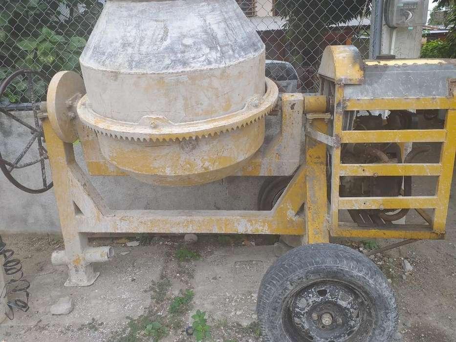 Vendo Concretera a Diesel