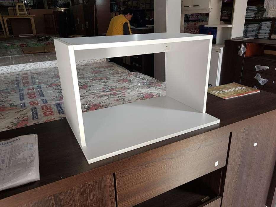 Mueble para microondas horno electrico