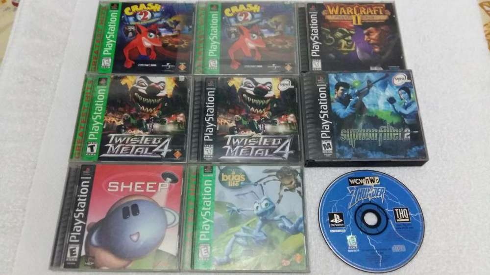 Juegos PlayStation Ps1 Ps2 Originales