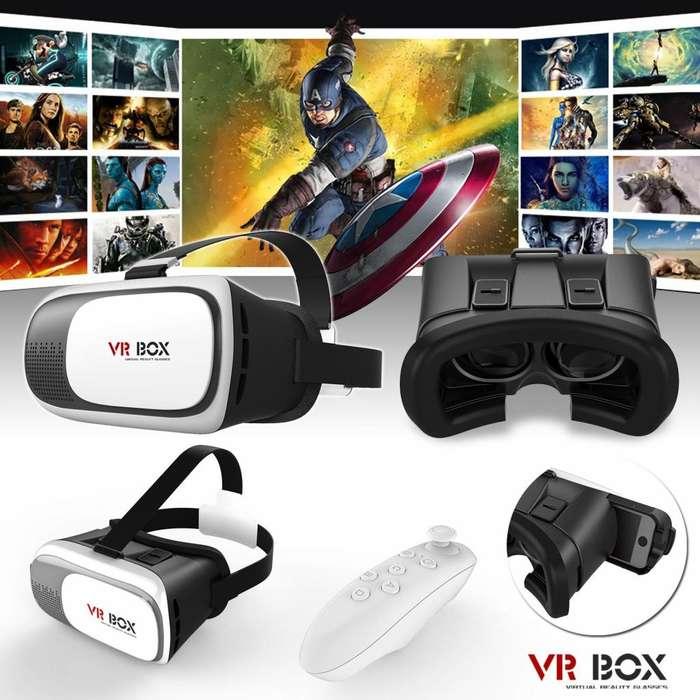 Gafas de Realidad Virtual 360 VR Box. con Control y Bluetooth