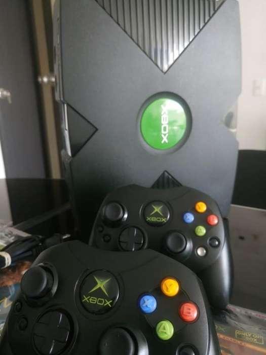 Vendo Xbox Clasico Como Nuevo
