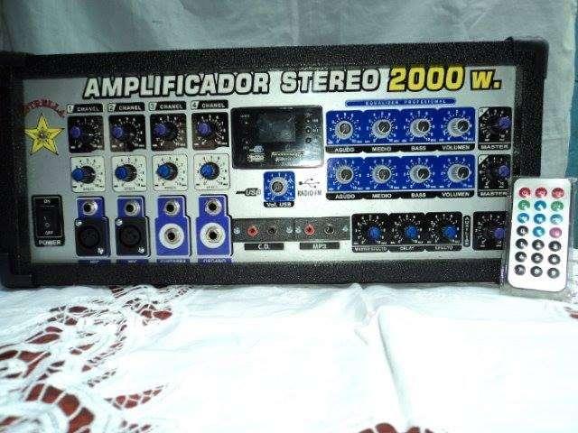 Vendo amplificador 850w