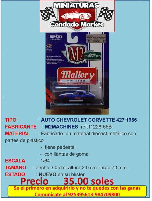 AUTO CHEVROLET CORVETTE 427 1966