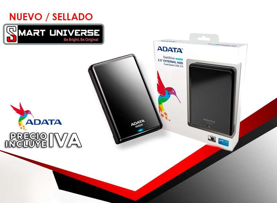 Disco Duro Externo Adata Hv620 2TB PORTABLE Usb 3.0 Nuevos