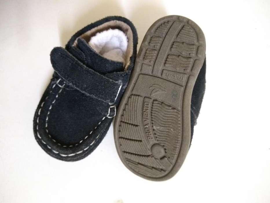 zapato nuevo 18 gamusa azul oscuro perfecto