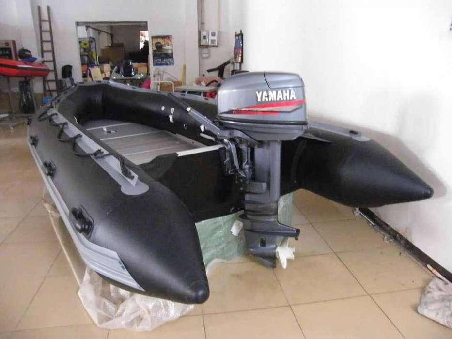 BOTE INFLABLE CON MOTOR FUERA BORDA 25 4T