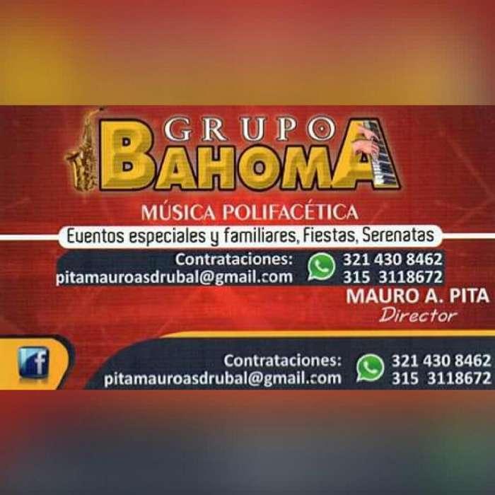 Grupo Bahoma Musica para Toda Ocasion