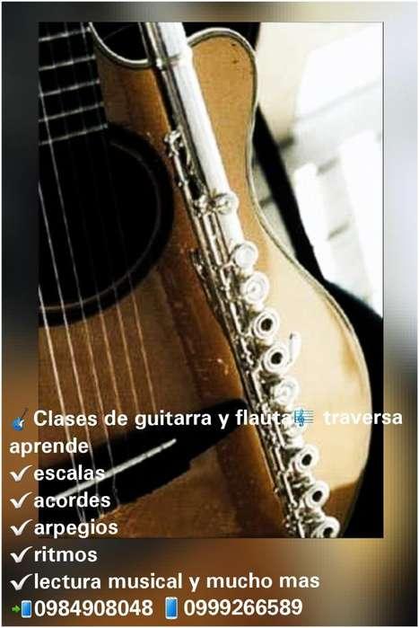 Clases de Guitarra Y Flauta Traversa