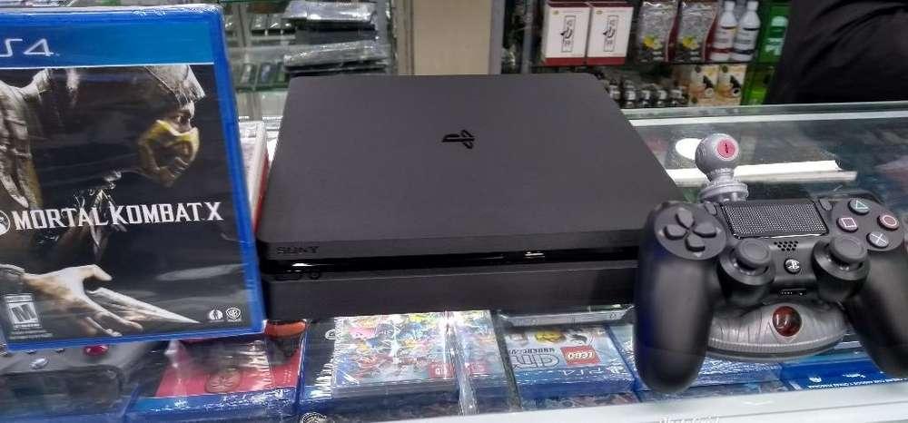Vendo Consola Ps4 500g Mas Un Juego