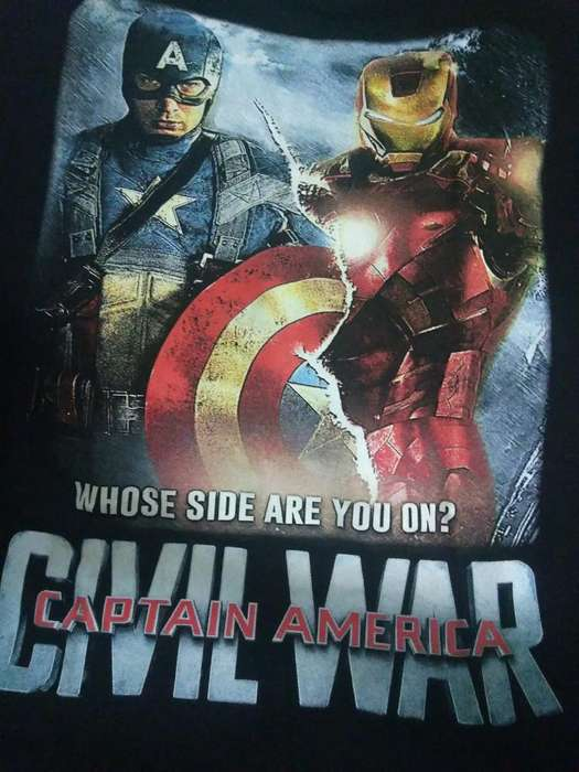 Camiseta Civil War