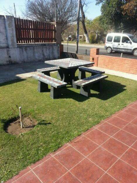 Juego de jardin patio parque quincho