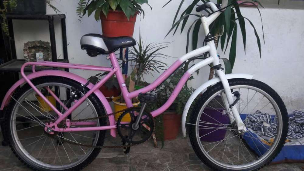 Bici para Nena Rodado 20