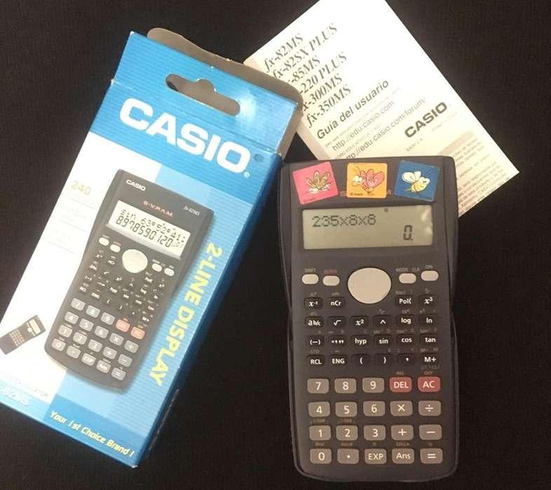 <strong>calculadora</strong> Casio Fx82Ms