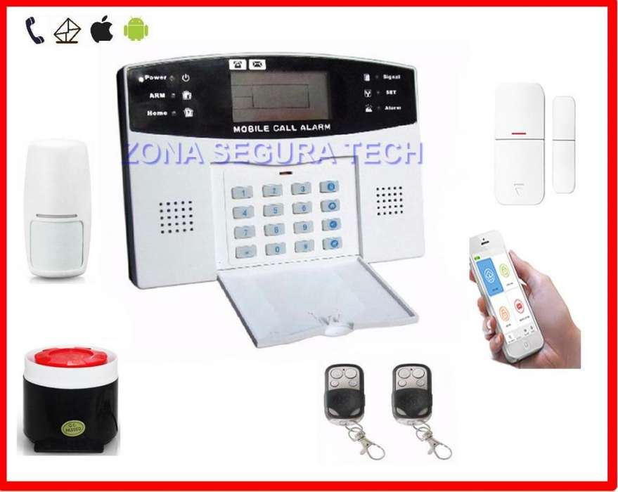 Kit de Seguridad Inalámbrico Gsm Pro