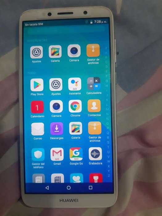 Huawei Y5 2018 Doblesim 4 Meses de Uso