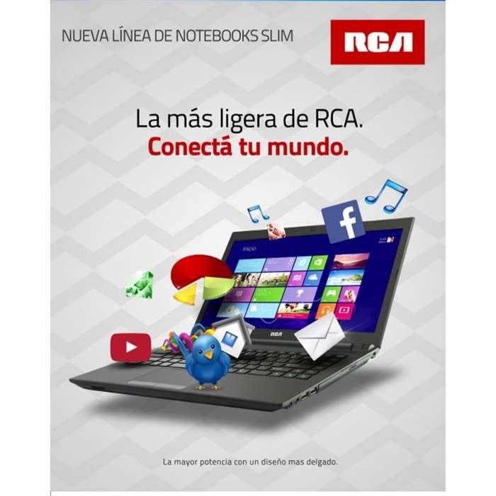 Notebook Rca Impecable I5 4gb Ram 6ta