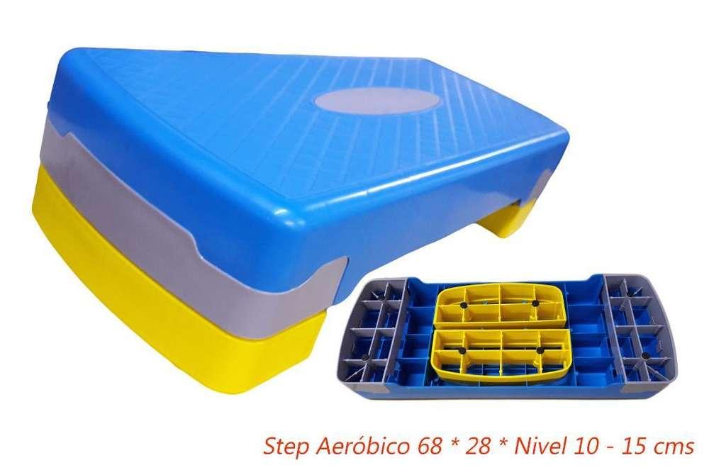 Step Aerobico Nivel 10 a 15cm