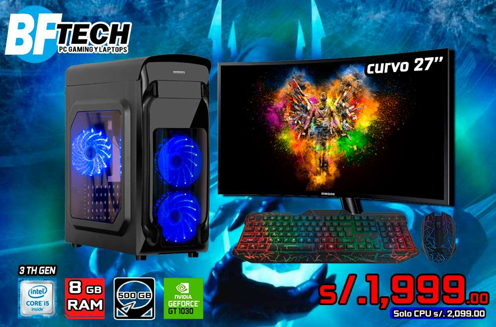 PC GAMING INTEL CORE I5 3TH GEN 25