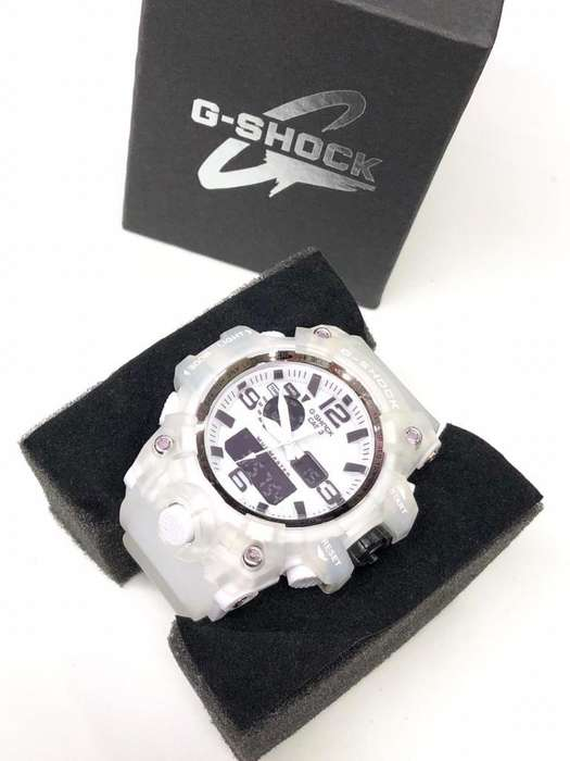 Reloj Casio G Shock Transparente 2