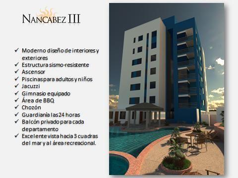 Departamento en Tonsupa Urb. Playa Almendro