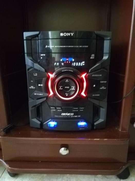 Equipo de Sonido Sony Genezi Buen Estado