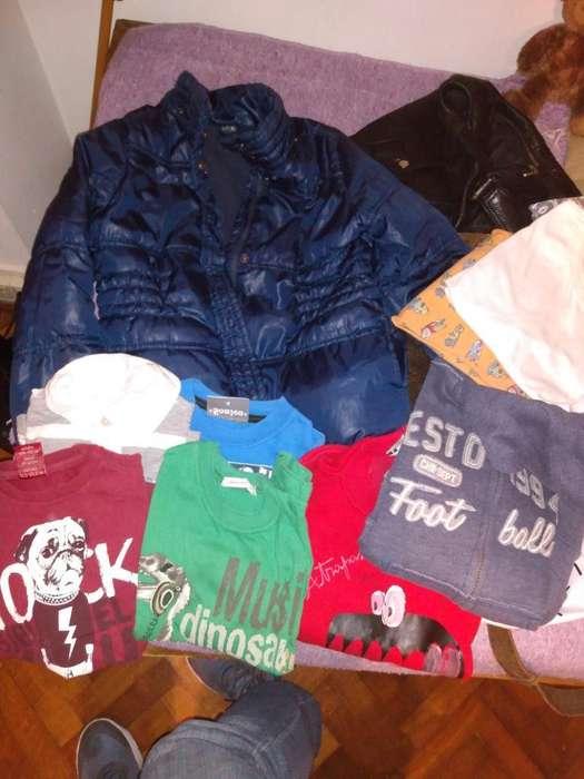 Campera Buzos Camisetas Talle 4 Nene