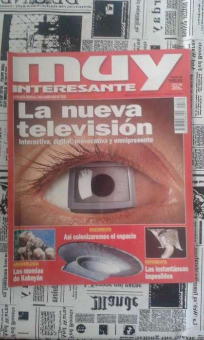 Revista Muy Interesante Año 2001 La Nueva Televisión NUMERO 184