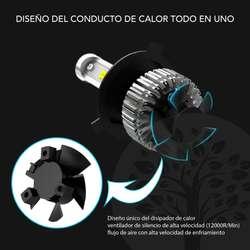 BOMBILLOS LED PARA CARROS Y MOTOS H4, H7