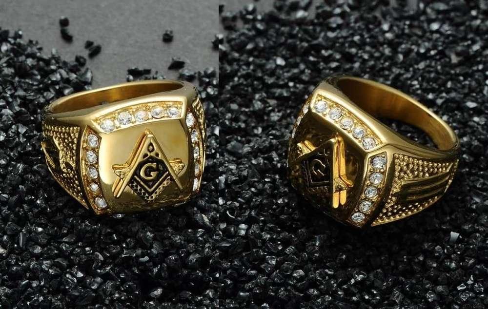 Anillo Masonico Alta calidad