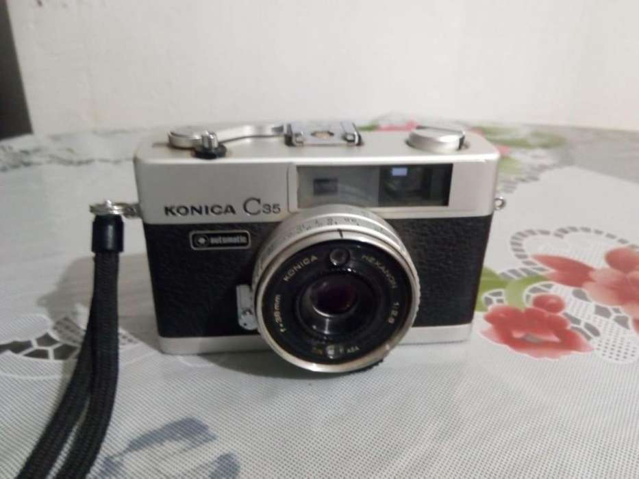 Camara de foto con flash