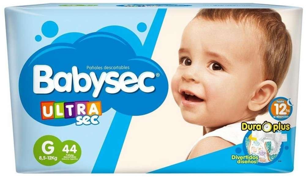 Pañal Babysec Ultra Azul Bebe Mx52 Gx44 Xgx36 Xxgx34 LANUS zona sur