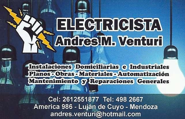 Electricista Zona Lujan Godoy Cruz Mendoza 24hs