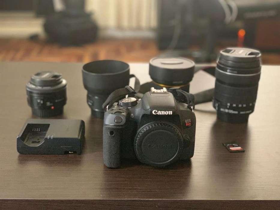 Canon EOS REBEL T7i Reflex Semiprofecional