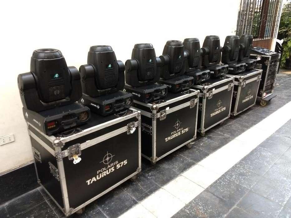 Cabezas Moviles Polarlight 575