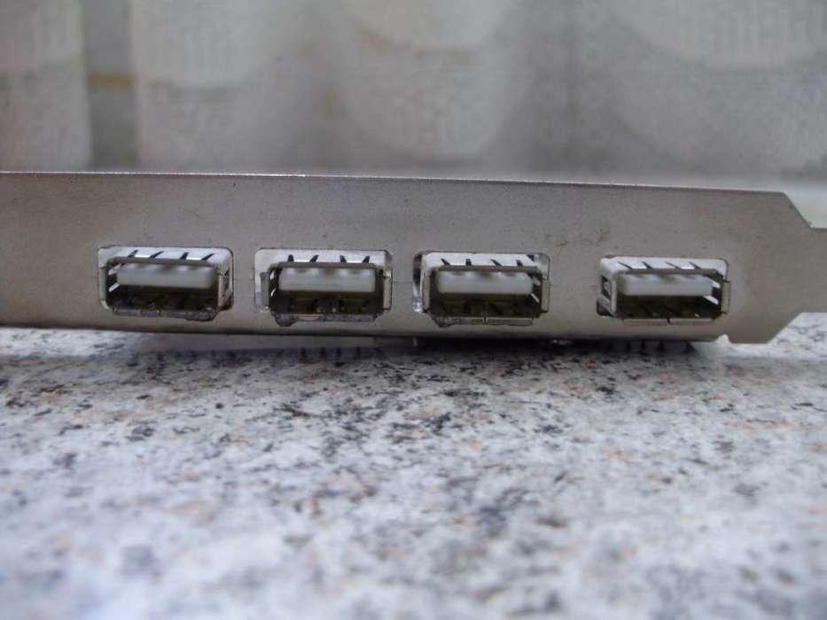 Placa de 5 USB para <strong>pc</strong> CPU Computadora