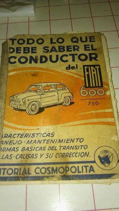 Vendo Libro Fiat 600