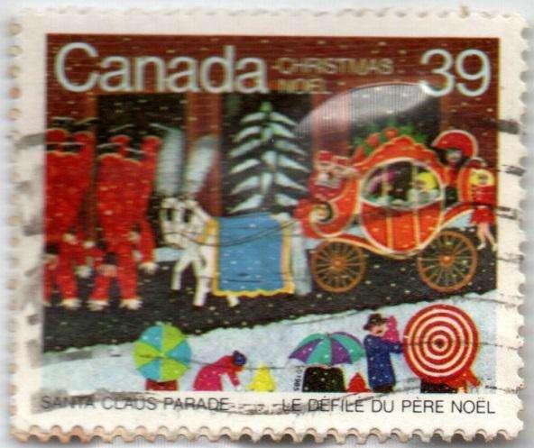 CANADA. ESTAMPILLA. 39 CENTS. 1985. SW 978. 14,5 M UNIDADES. ESTADO 7 DE 10. VALOR 1900
