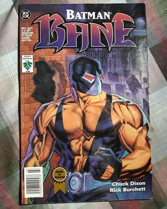 Batman. Bane. Editorial Vid. Español.