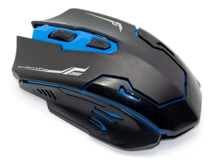 Mouse Inalambrico Seisa -Varios Modelos Gamer Multifuncional
