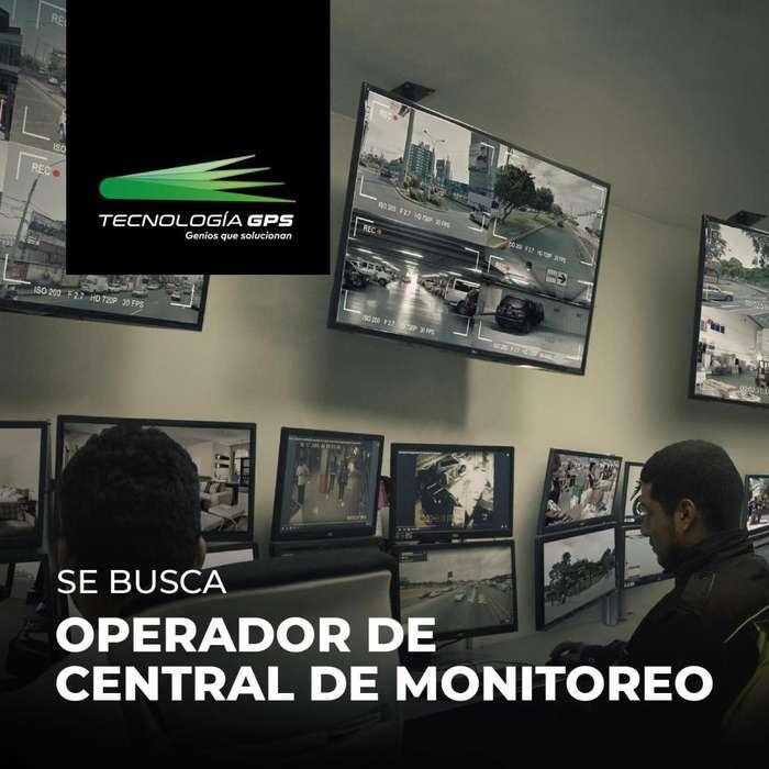 Operador para Central de monitorio