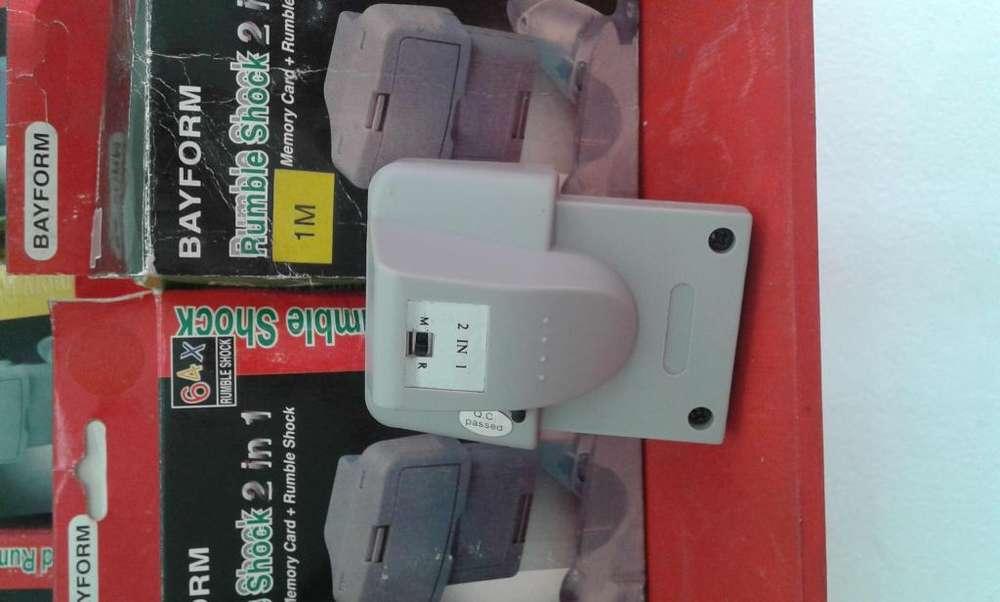 vibradores para controles Nintendo 64