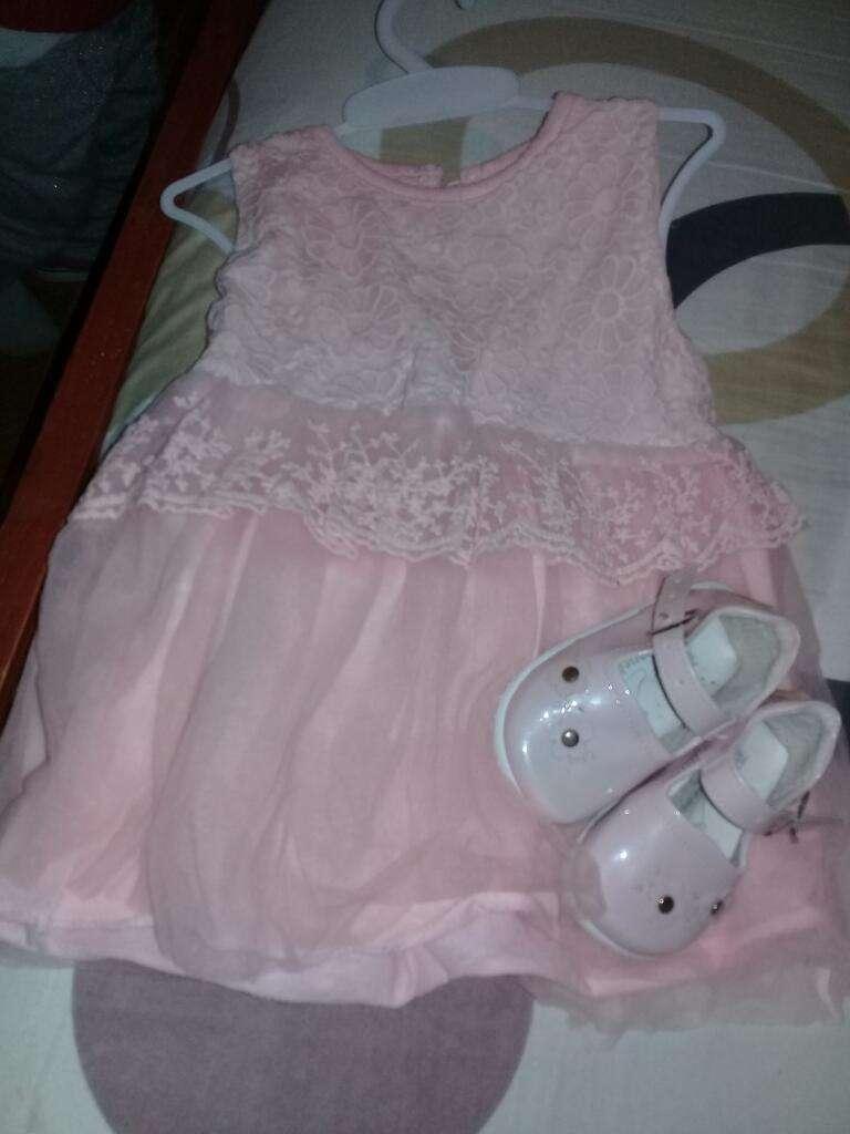 Vestido de Baustimo  Zapatos Num 18
