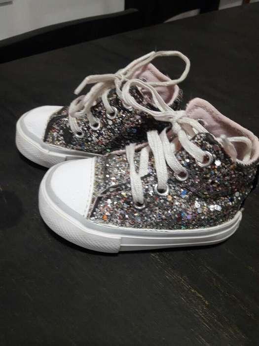 Zapatillas de Nenas N17 Y 18 con Glitter