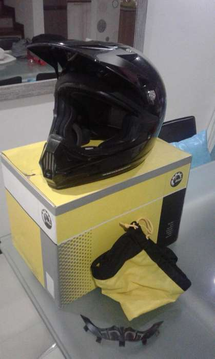 CAN AM CASCO ATV XC - 3 TALLA L/G POCO USO