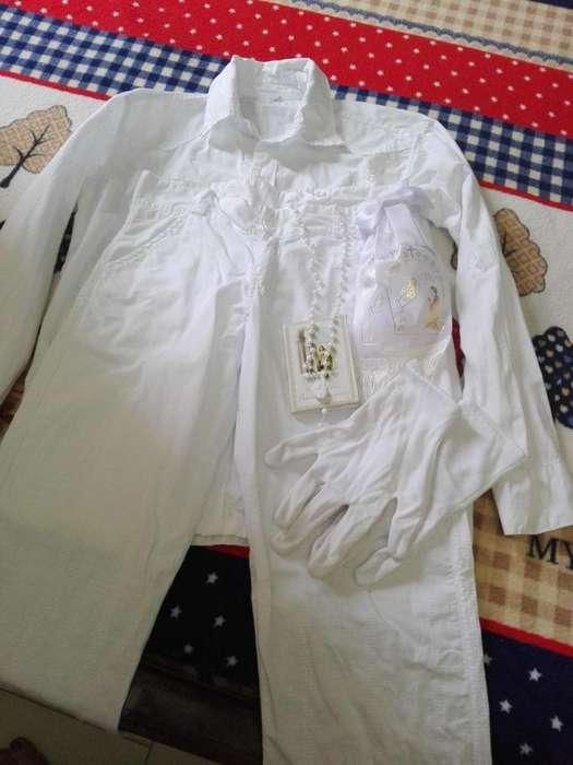 Vendo vestuario de primera comunion de nio